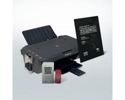 Canon ts3340 (WiFi) с СНПЧ от SKILLINCOLOR